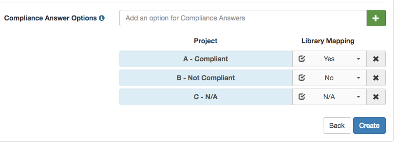 A_screenshot_of_the_Projects__Manage_Compliance_Options_modal_showing_Compliance_Answer_mapping_.png