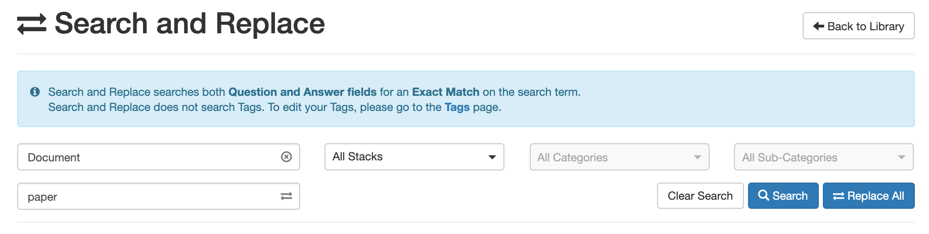 A_screenshot_of_the_Search_and_Replace_page_with_both_Search_and_Replace_fields_populated.png
