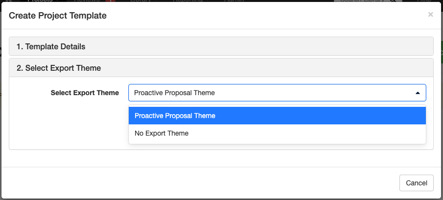 A_screenshot_of_the_Select_Export_Theme_section_of_the_Create_Project_Template_modal.png