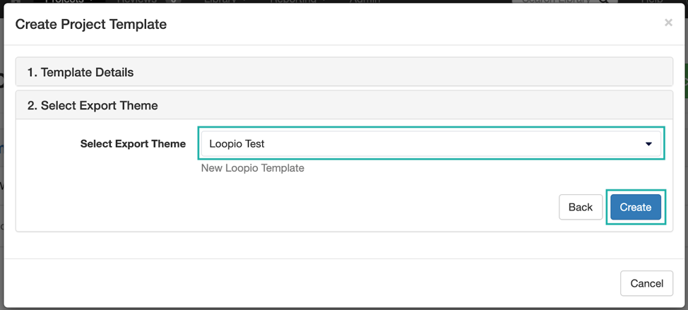 The_create_Project_Template_modal_with_the_Export_Theme_dropdown_menu_indicated.png
